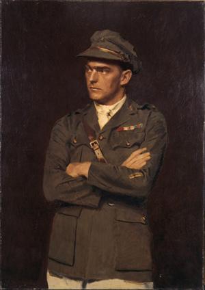 Lieutenant Percy Valentine Storkey, VC, c.1920