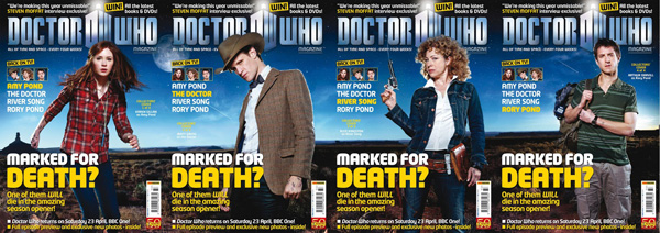 Doctor Who Magazine 433 covers