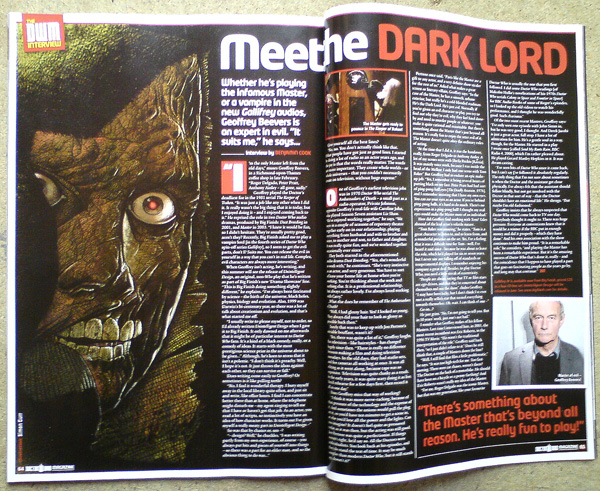Doctor Who Magazine 433. Click this image to read the entry.