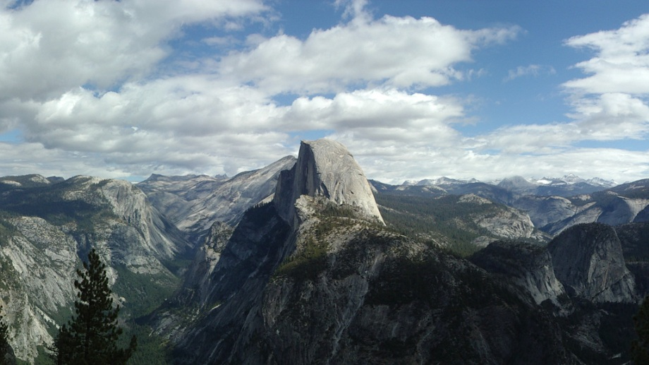 Half Dome, seen from Yosemite