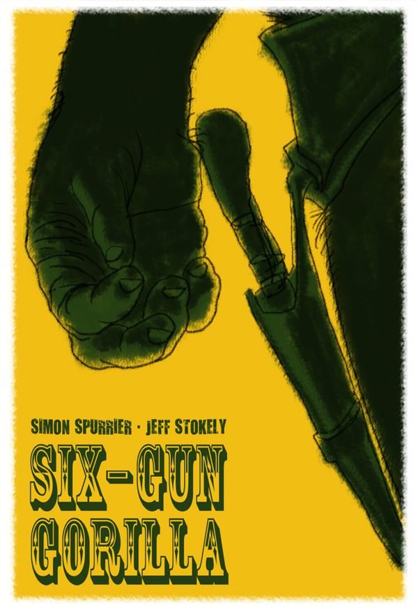 Six Gun Gorilla fan art by SImon Gurr