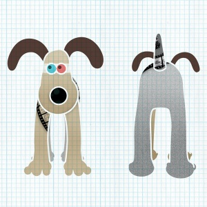 Gromit unleashed design by Simon Gurr